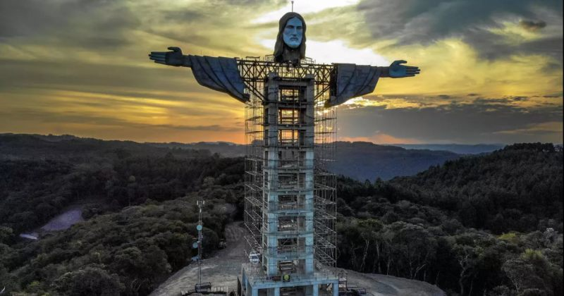 ბრაზილიაში ქრისტეს ახალი ქანდაკება შენდება, რომელიც რიოზე მაღალი იქნება