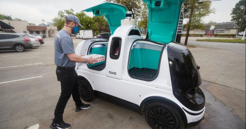 Domino's Pizza ავტონომიური რობოტების საშუალებით ადგილზე მიტანის სერვისზე მუშაობს