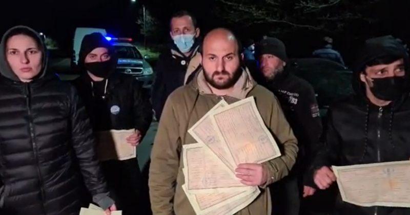 ნამახვანჰესის მოწინააღმდეგე აქტივისტების თქმით, პოლიციამ 2 000-2 000 ლარით დააჯარიმა