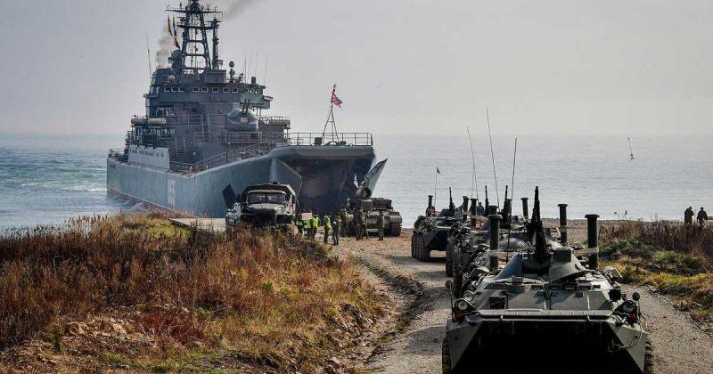 ანექსირებულ ყირიმში რუსეთმა მასშტაბური სამხედრო წვრთნები დაიწყო