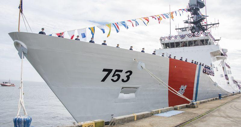 ბათუმის ნავსადგურში აშშ-ს სანაპირო დაცვის გემი ჰამილტონი შემოვიდა