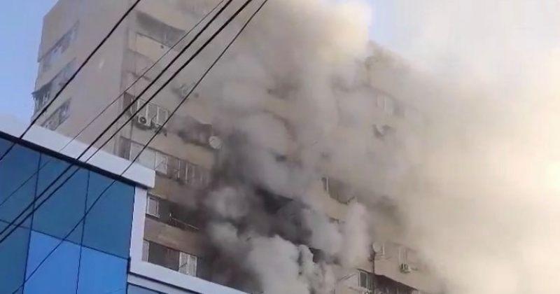 თბილისში, პეკინის ქუჩაზე ხანძარი უკვე ლოკალიზებულია, ჩაქრობას 14 ეკიპაჟი ცდილობს [VIDEO]