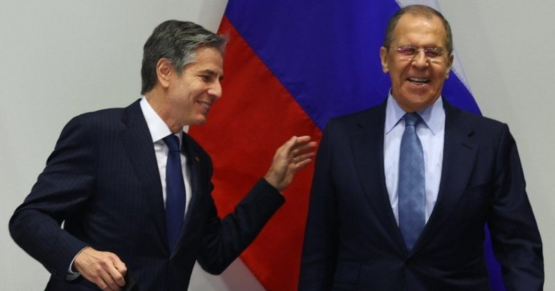 ბლინკენი ლავროვს: თუ რუსეთი პარტნიორების წინააღმდეგ აგრესიულად იმოქმედებს, პასუხს გავცემთ