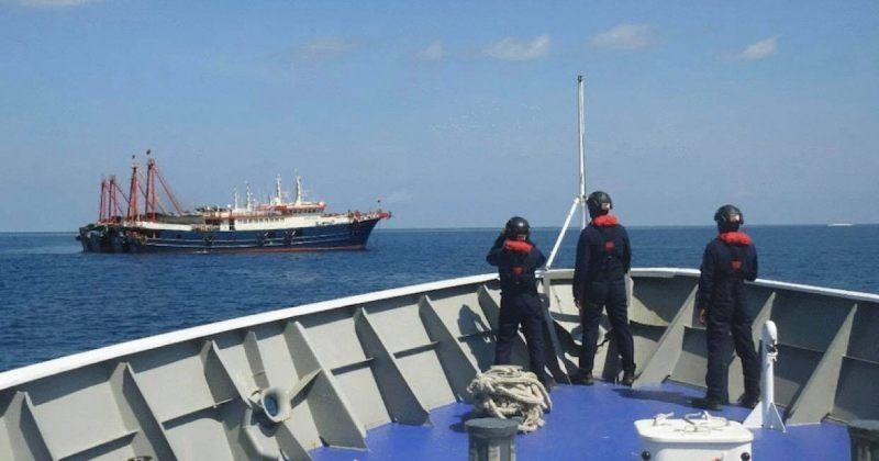 ფილიპინები სამხრეთ ჩინეთის ზღვაში ჩინეთის გემების უკანონოდ ყოფნას აპროტესტებს