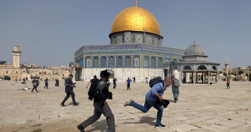 იერუსალიმში, ალ-აკსას მეჩეთთან ისრაელის პოლიციასთან შეტაკებისას 305 პალესტინელი დაშავდა
