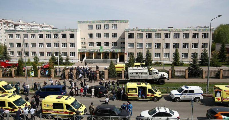 რუსეთში, სკოლაში სროლის შედეგად, 11 ადამიანი დაიღუპა, მათ შორის – 9 ბავშვი