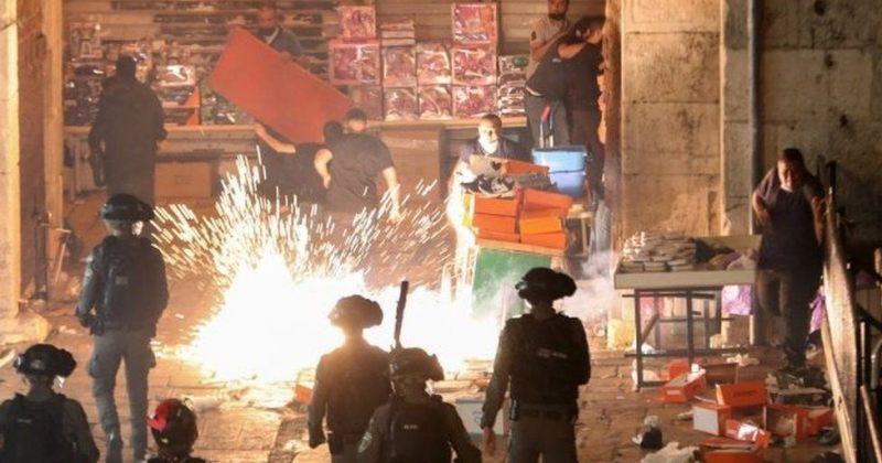 იერუსალიმში პოლიციისა და პალესტინელების დაპირისპირებაში 90-ზე მეტი ადამიანი დაშავდა