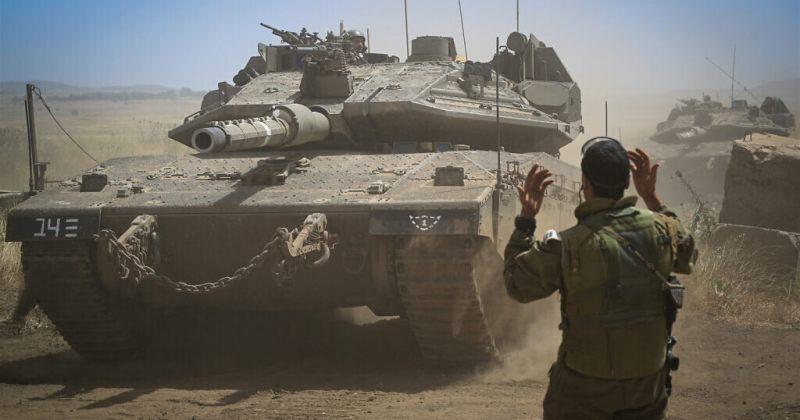ისრაელის თავდაცვის ძალების გენერალურ შტაბს ღაზაში შესაძლო შეჭრის გეგმას წარუდგენენ