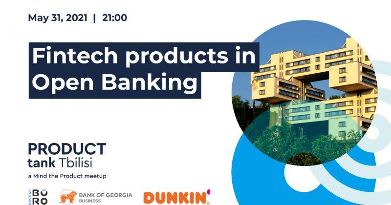 ® საქართველოს ბანკთან პარტნიორობით ProductTank Tbilisi-ის შეხვედრა გაიმართება
