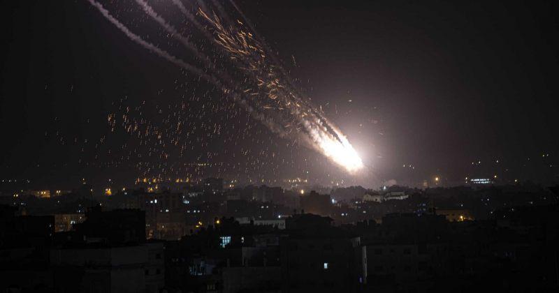ბოლო 24 საათში ღაზის სექტორიდან ისრაელის მიმართულებით 200 რაკეტა ისროლეს