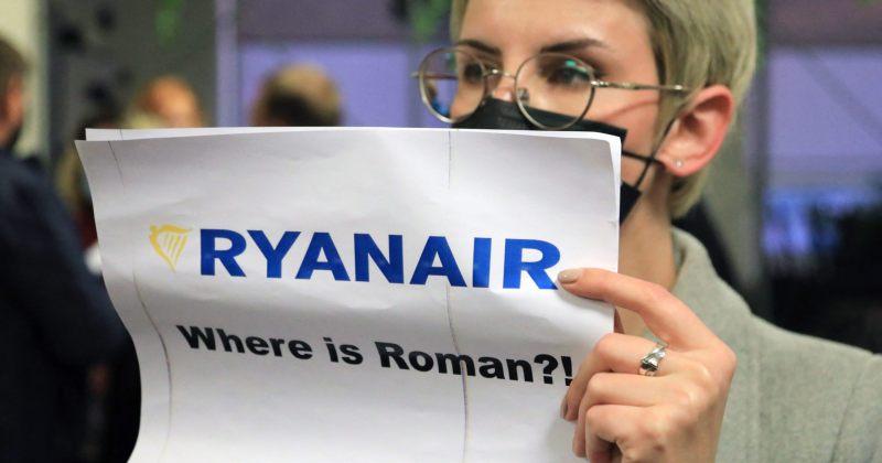 ბელარუსის ცნობით, RYAINAIR-ის რეისი ჰამასის მუქარის გამო დასვეს, დაჯგუფება კავშირს უარყოფს