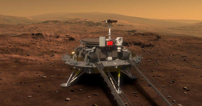 ჩინეთმა როვერი ჭუჟონგი მარსზე წარმატებით დასვა
