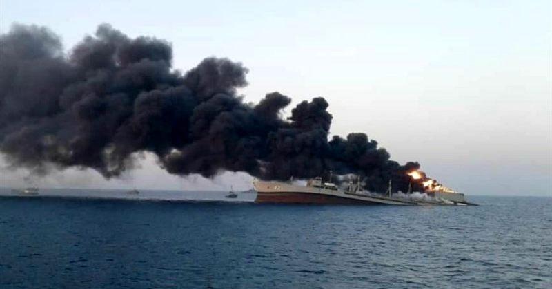 ირანი ფლოტის უდიდეს გემზე მომხდარ ხანძარსა და მისი ჩაძირვის გამოძიებას იწყებს