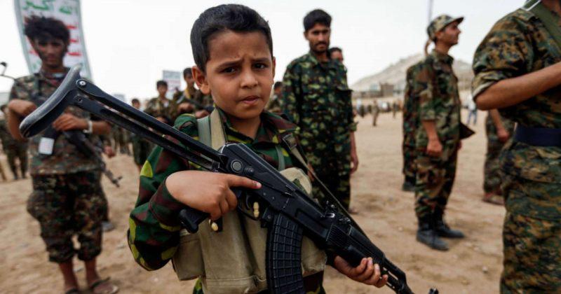გაეროს ანგარიში: 2020 წელს 8521 ბავშვი ჯარისკაცად გამოიყენეს