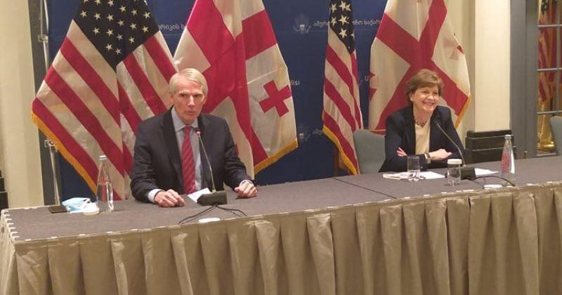სენატორი პორტმანი: გვჯერა, რომ საქართველო იმსახურებს NATO-ს წევრობის გზაზე ყოფნას და MAP-ს
