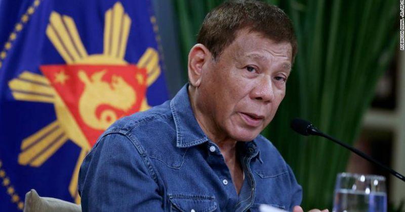 ფილიპინების პრეზიდენტი ადამიანებს, ვინც აცრაზე უარს ამბობს, დაპატიმრებით ემუქრება