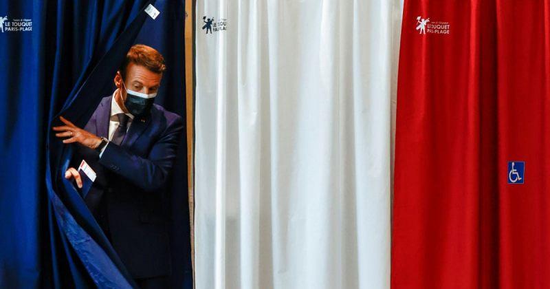 საფრანგეთის რეგიონულ არჩევნებში პრეზიდენტ ემანუელ მაკრონის პარტია მარცხდება