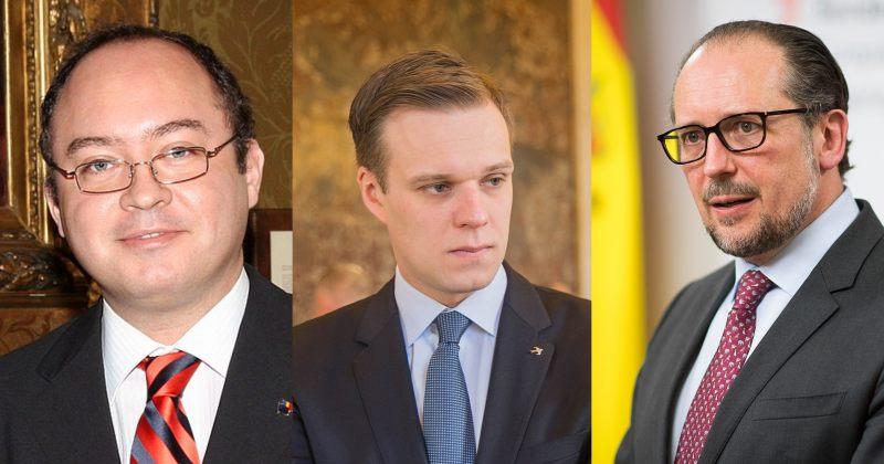 რუმინეთის, ავსტრიის და ლიტვის საგარეო საქმეთა მინისტრები საქართველოს ეწვევიან