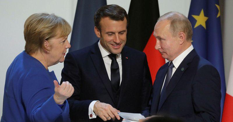 გერმანიამ და საფრანგეთმა ევროკავშირის ლიდერებთან პუტინის შეხვედრის წინადადება წამოაყენეს