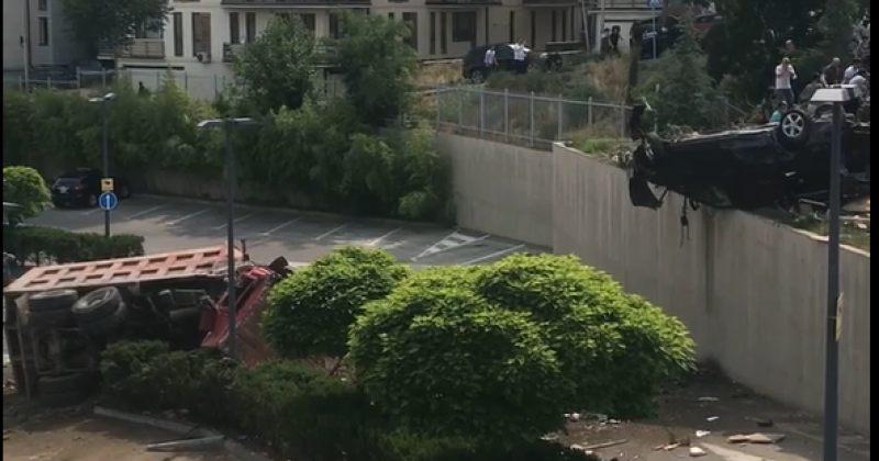 კრწანისის ქუჩაზე ავარიის შედეგად ერთი ადამიანი დაიღუპა და 8 დაშავდა
