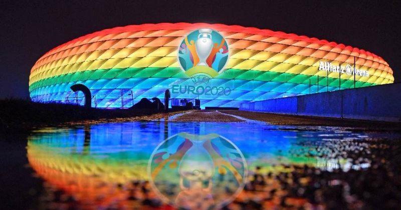 მიუნხენის პასუხი უნგრეთის ჰომოფობიურ კანონს - ალიანს არენა LGBT დროშის ფერებში განათდება