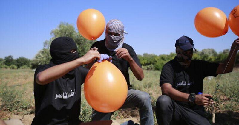 IDF-ის თავდასხმა ღაზიდან ისრაელის მიმართულებით გაშვებულ ცეცხლოვან ბუშტებს მოჰყვა [ფოტოები]