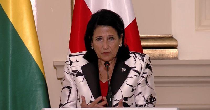 პრეზიდენტი EU-ს სესხზე: აქ მთავარი ჩვენი ქვეყნის რეპუტაცია, ჩვენი სიტყვის სანდოობაა