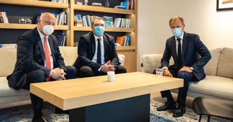 ევროპული საქართველოს ლიდერებმა EPP-ს პრეზიდენტთან, დონალდ ტუსკთან, შეხვედრა გამართეს