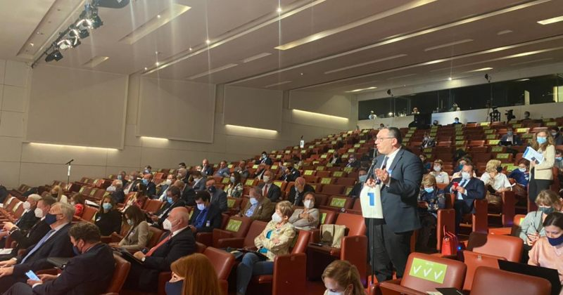 ბოკერია ბრიუსელში EPP-ის პოლიტიკურ ასამბლეაზე სიტყვით გამოვიდა და რუსულ აგრესიაზე ისაუბრა