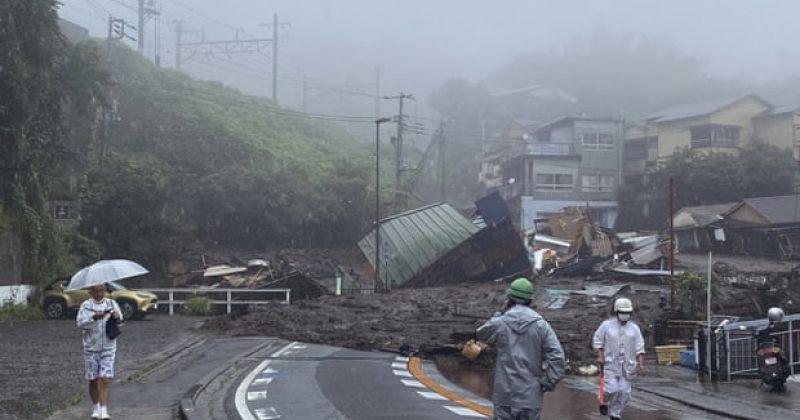 იაპონიის ქალაქში მასშტაბური მეწყერი ჩამოწვა, 19 პირი დაკარგულია [VIDEO]