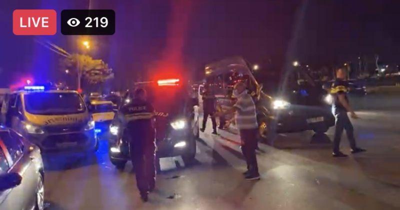 პრაიდის კვირეულის მონაწილეებისთვის პოლიციამ მიკროავტობუსები მიიყვანა