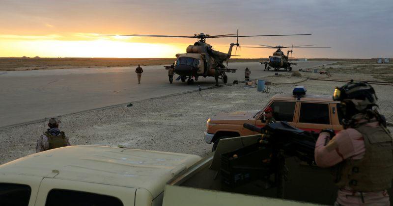ერაყში ამერიკული სამხედრო ბაზის მიმართულებით 14 რაკეტა ისროლეს