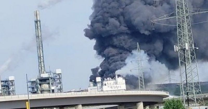 გერმანიაში ქიმიურ ქარხანაში აფეთქება მოხდა, დაიღუპა ერთი ადამიანი [ვიდეო]