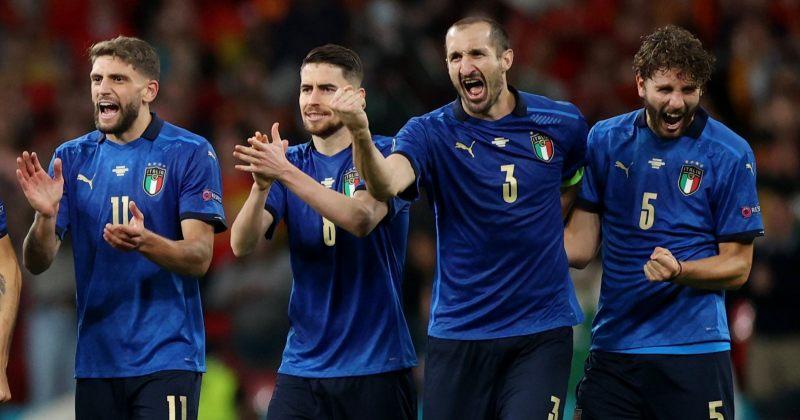 იტალია ევროპის ჩემპიონია