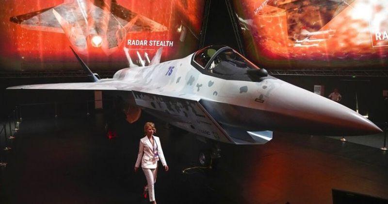 პუტინს ახალი რუსული გამანადგურებელი წარუდგინეს, რომელიც ამერიკული F-35-ის ასლია