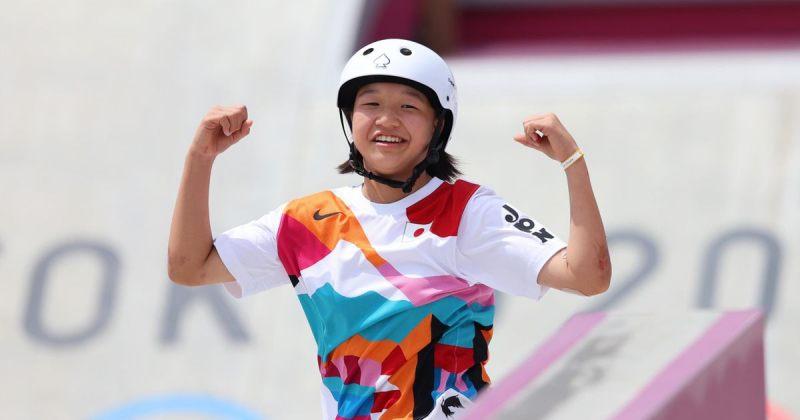 13 წლის იაპონელმა სკეიტბორდისტმა ტოკიოს ოლიმპიადაზე ოქროს მედალი მოიპოვა