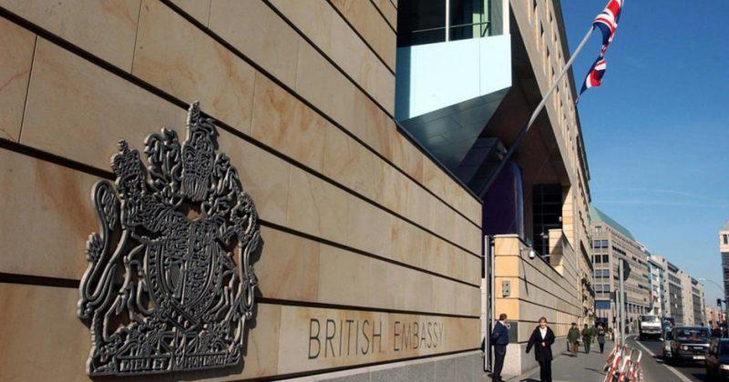 ბერლინში დიდი ბრიტანეთის საელჩოს თანამშრომელი რუსეთისთვის ჯაშუშობის ბრალდებით დააკავეს