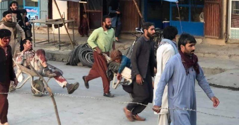 თალიბანის თქმით აეროპორტთან მომხდარ აფეთქებას 13 ადამიანი ემსხვერპლა, დაშავდნენ თალიბებიც