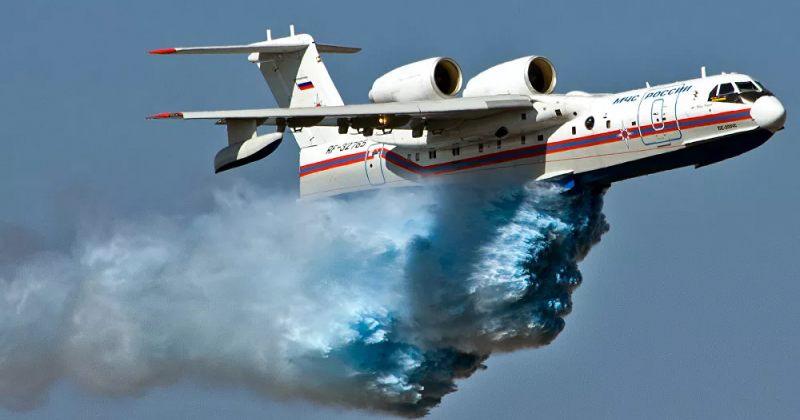თურქეთში რუსული სახანძრო თვითმფრინავი ჩამოვარდა – დაიღუპა ყველა მგზავრი