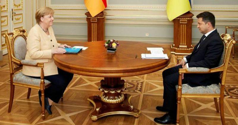 მერკელი: ჩვენ მხარს ვუჭერთ ახალ სანქციებს, თუ რუსეთი NORD STREAM 2-ს იარაღად გამოიყენებს