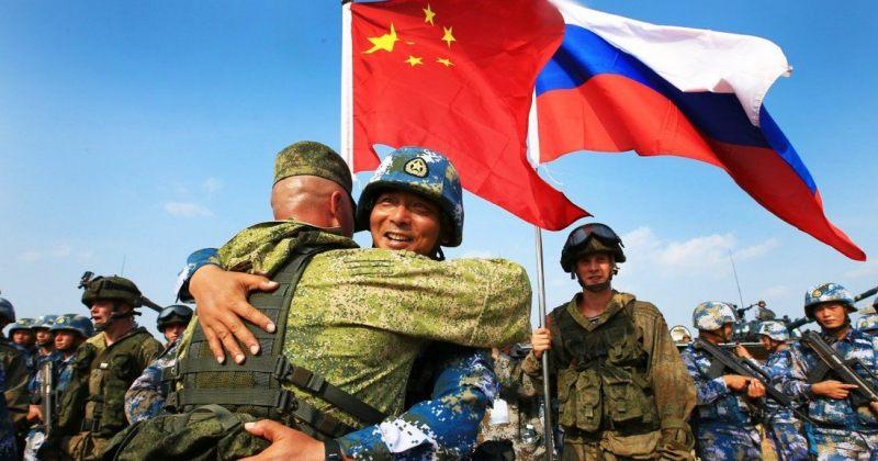 რუსეთისა და ჩინეთის შეიარაღებულმა ძალებმა ერთობლივი სამხედრო წვრთნები ჩაატარეს