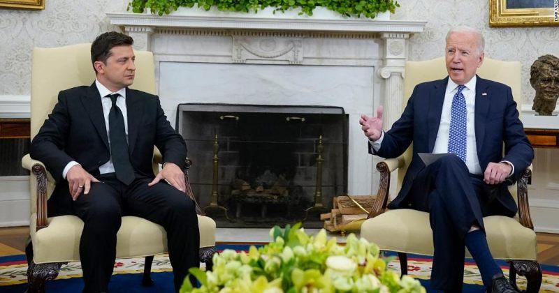 """""""აშშ მყარად უჭერს მხარს უკრაინის სუვერენიტეტს"""" – რაზე ისაუბრეს ბაიდენმა და ზელენსკიმ"""