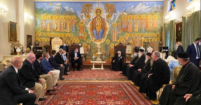 აშშ-ს კონგრესმენთა დელეგაცია პატრიარქ ილია II-ს შეხვდა