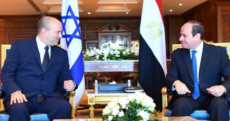 ისრაელის პრემიერმინისტრი ნაფთალი ბენეტი ეგვიპტეში ოფიციალური ვიზიტით ჩავიდა
