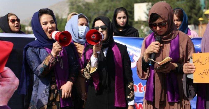 თალიბანმა ქაბულში გამართული ქალთა დემონსტრაცია ცრემლსადენი გაზით დაშალა