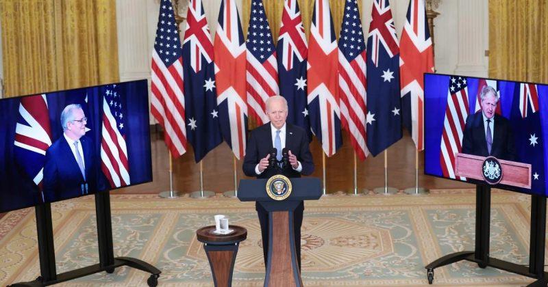 აშშ-მ, დიდმა ბრიტანეთმა და ავსტრალიამ უშიშროების ახალი პაქტი, AUKUS-ი გააფორმეს