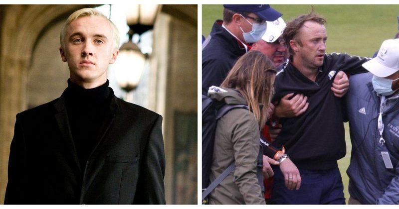 ჰარი პოტერის მსახიობმა, ტომ ფელტონმა, გოლფის მინდორზე გონება დაკარგა