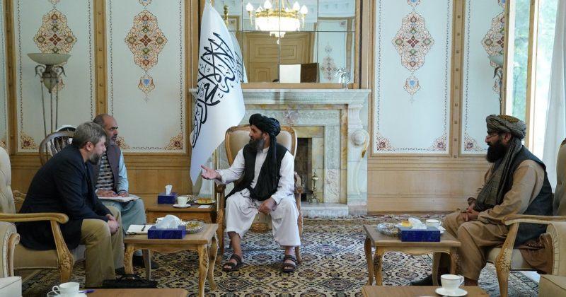 თალიბანის ლიდერს ცხინვალის მარიონეტული ხელისუფლების წარმომადგენელი შეხვდა