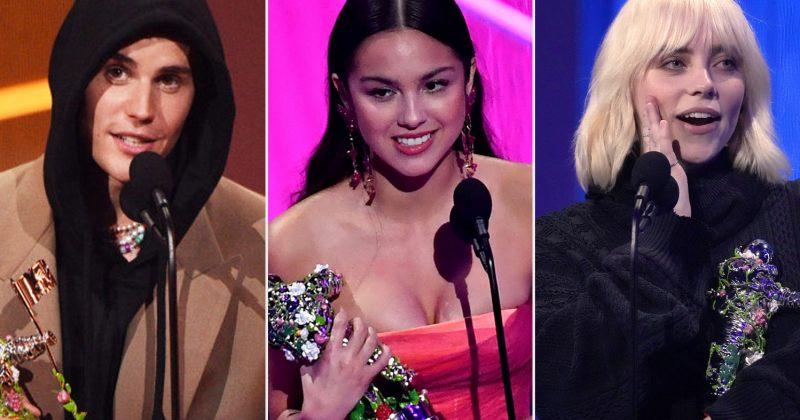 ჯასტინ ბიბერი, ოლივია როდრიგო, ბილი აილიში – MTV VMA-ს გამარჯვებულები ცნობილია