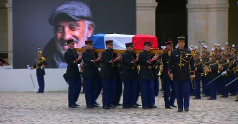 საფრანგეთმა ჟან-პოლ ბელმონდო უკანასკნელ გზაზე გააცილა - [VIDEO]